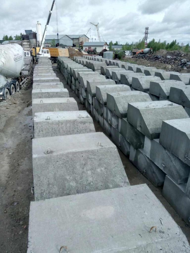 Утяжелители из бетона купит станции прогрева бетона